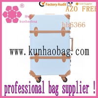 fashion oxford bright blue color travel luggage