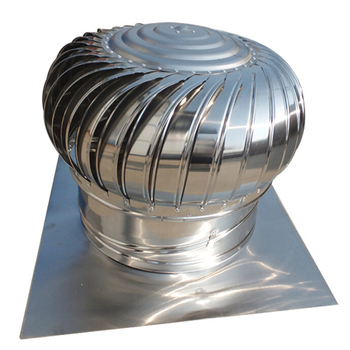 Stainless Steel Roof Automatic Running Turbine Ventilator Fan