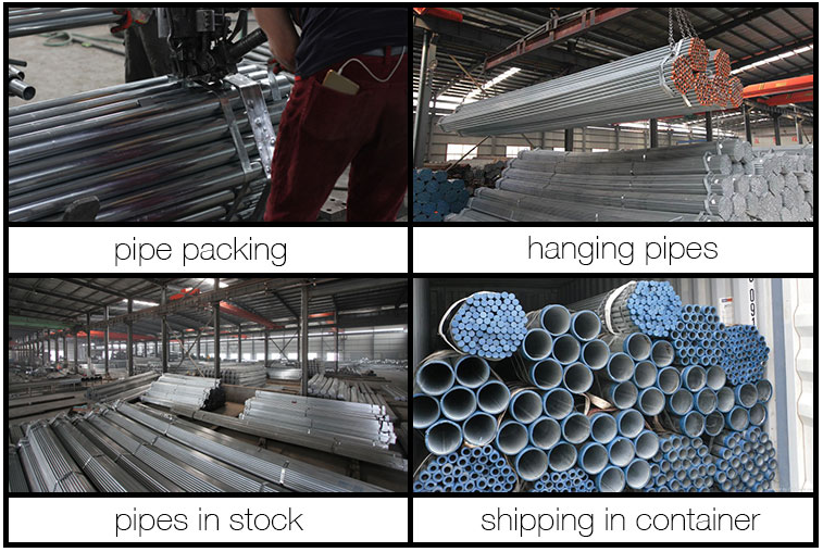 Hot Dipped Galvanized Round Steel Pipe/GI Pipe/Galvanised Tube