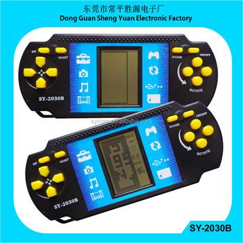 9999 in 1 Brick Game with jumbo display SY-2030B racing car brick game