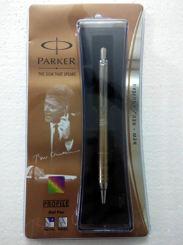 Parker Profile Ball Pen Ballpoint Pen Copper Brand New Sealed Original Blue ink