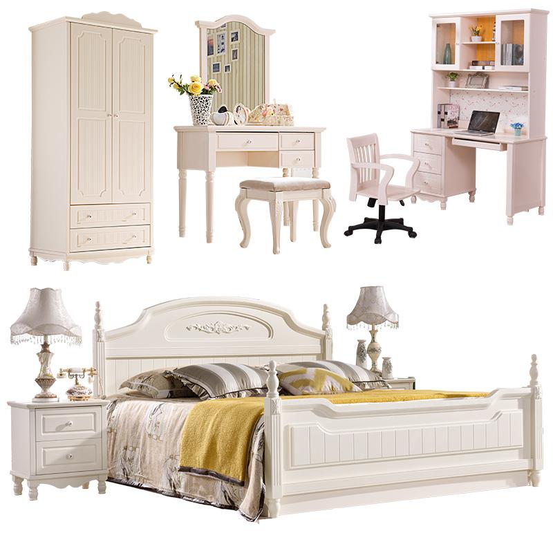 Venta al por mayor cama individual blanca con dosel-Compre online ...