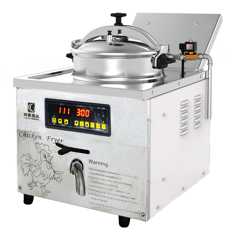 MDXZ-16C Zähler Top Druck Friteuse Druck Friteuse Huhn Express Gebratenes Huhn Maschine