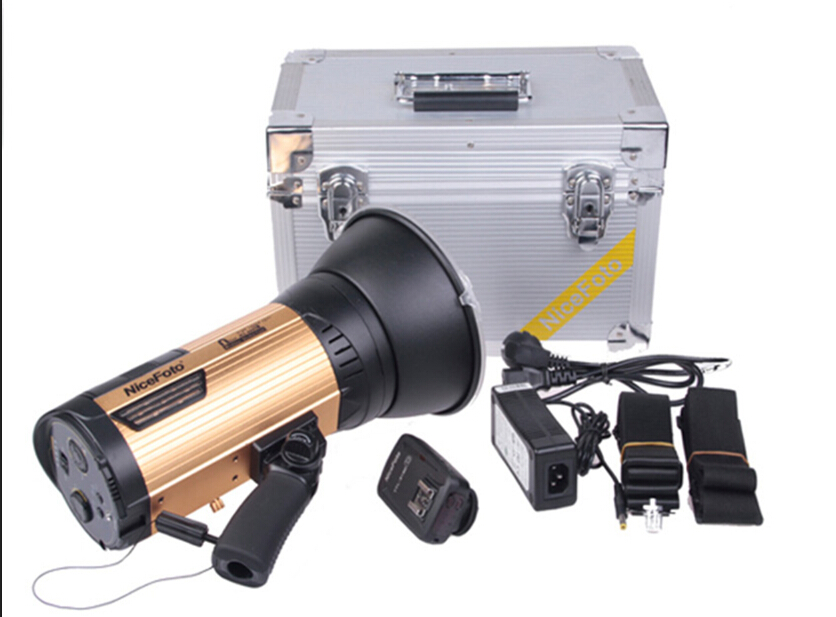 NiceFoto wireless studio flash for Canon camera HSS1/8000S PHOTO light outdoor shooting 320times