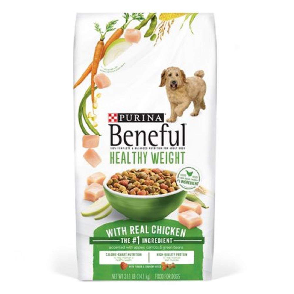 Purina Beneful IncrediBites for Small Dogs Adult Dry Dog Food (Healthy Weight, 31.1 lb Bag)