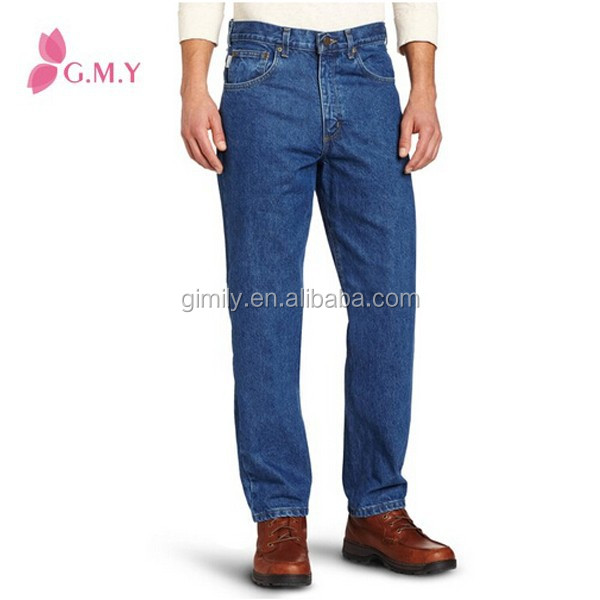 2014 Fahion Denim Men's Relaxed Fit Jean Manufacture China