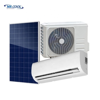 Hybrid Solar Air Conditioner 18000btu complete system with CE & CB Certificate