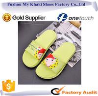 Fuzhou fancy mykhaki-1008 eva sandal for lady women and men slippers