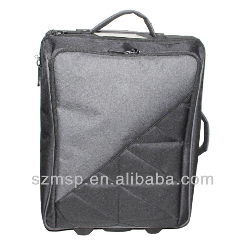 gear polyester tripper luggage ,OEM trolley case REACH,BSCI,SEDEX AUDITED