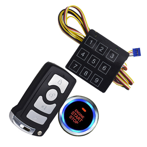 DC 12V Voltage and 433.92MHZ Frequency (MHz) car alarm