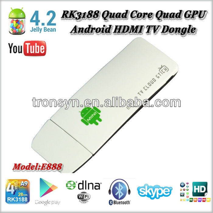 Memory Card support for 32 GB Quad -Core Mini PC android box tv