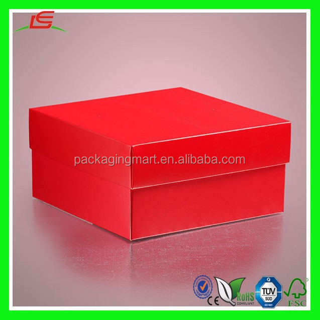 NZ074 Favor Colored Deluxe Two Piece Gift Boxes Small Cardboard Box