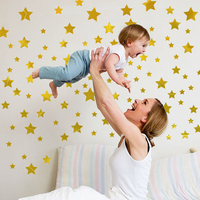 DIY star wall stickers for child room