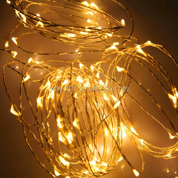 warm white led christmas lights wholesale item fairy light flexible customzied mini led copper wire string - Christmas Fairy Lights