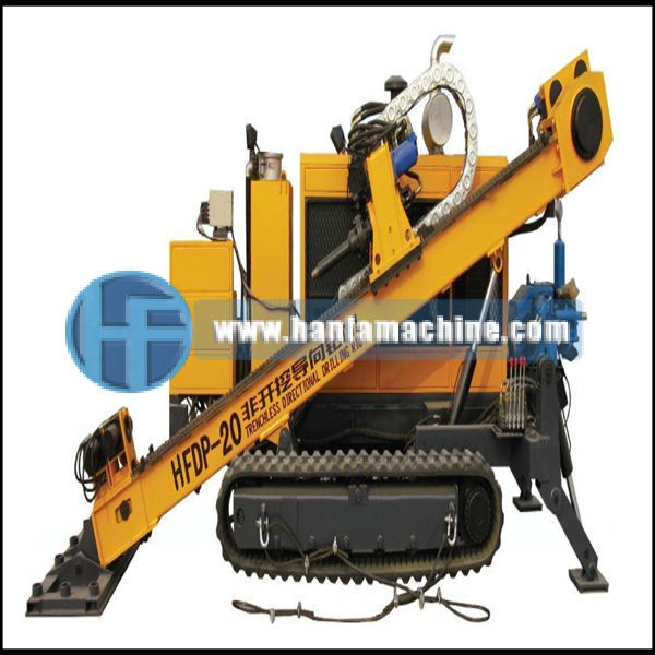 full hydraulic, rubber crawler type HFDP-20 ground hole drilling machine,mainly used for civic construction