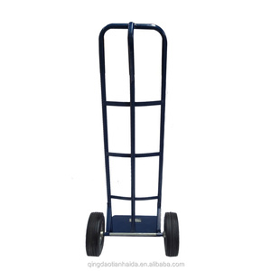 heavy duty P handle platform hand sack trolley price size