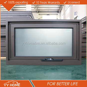 buy online 09322 18988 Australian Standard Brown Color Aluminum Frame Awning Windows Double  Glazing With Frosted Glass - Buy Aluminum Frame Awning Windows,Awning ...