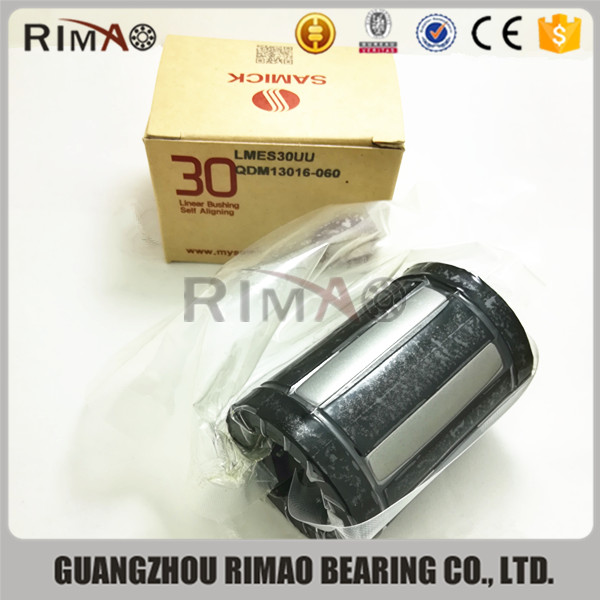 linear rail and block bearing samick linear bushing LMES12 LMES20 LMES25 linear rail and bearing