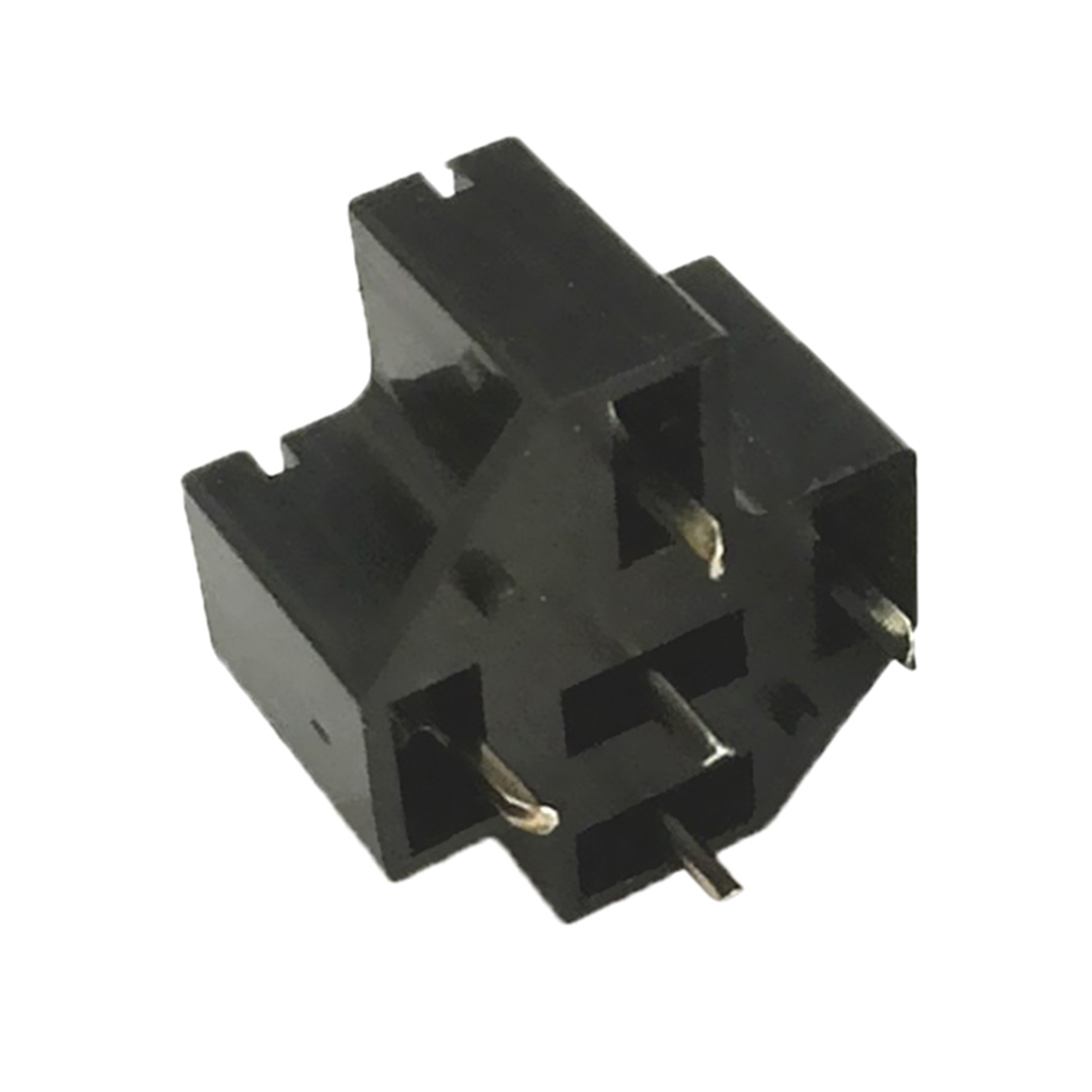 Automotive Car Auto 40a 5 Pin Spdt Relay Socket Connector Adaptor Pcb Board Mount Base Holder