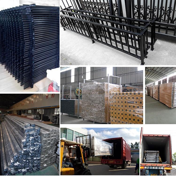 Grosshandel Niedrigen Preis Schwarz Pulverbeschichtet Stahl