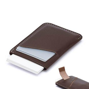 9ff460ba30ab Mens Front Pocket Genuine Leather Rfid Blocking Mini Slim Pull Tab Credit  Card Holder Wallet Minimalist Thin Card Slide Wallet - Buy Minimalist ...
