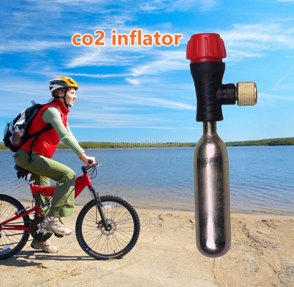 Draagbare mini co2 gas capsule bus fles paintball tank food grade wegwerp 16g 24g 25g 20g controle drive