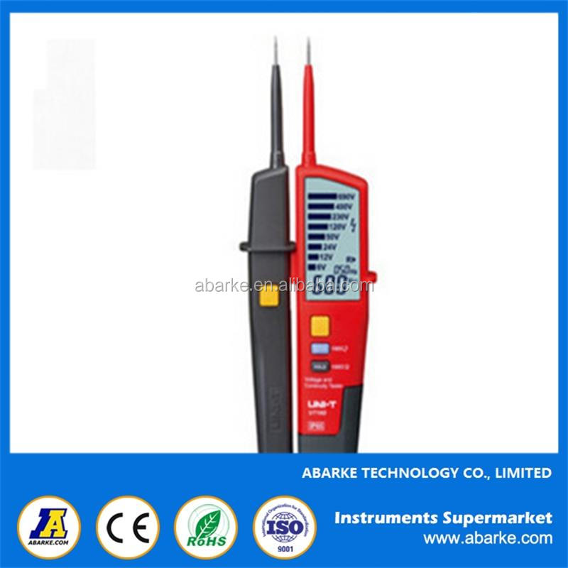 UNI-T UT18A Auto Range Voltimetro Digital Voltmeter Voltage Tester Pen With LED Indication and No Battery Detection