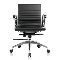 Black color chair office chair hotel room desk chairs(FOH-F76-E)