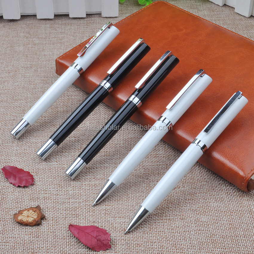 Cheap promotional custom metal made pen with logo