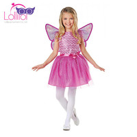 Popular cute butterfly fairy child costume , fancy fairy costume