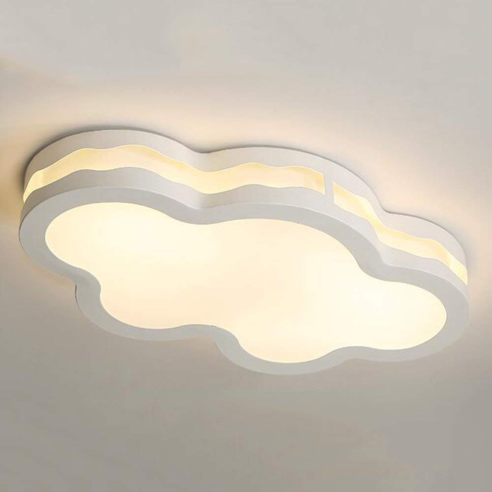 XQY Ceiling Light-Led Iron Lamp Body Acrylic Shade Creative Children's Room Ceiling Lights Personality Cartoon Modern Simplicity Lamps 57 33.5 12Cm / 67 40 12Cm - Energy Saving Ceiling Li