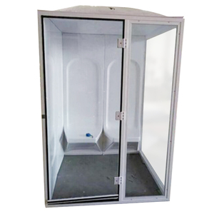Factory price 4 person outdoor portable steam sauna room for sale