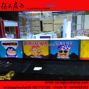 Portable Bright Acrylic Displays Counters For Vape Fiends From Usa,Trade  Show Exhibition Equipment Custom - Buy Acrylic Displays,Portable