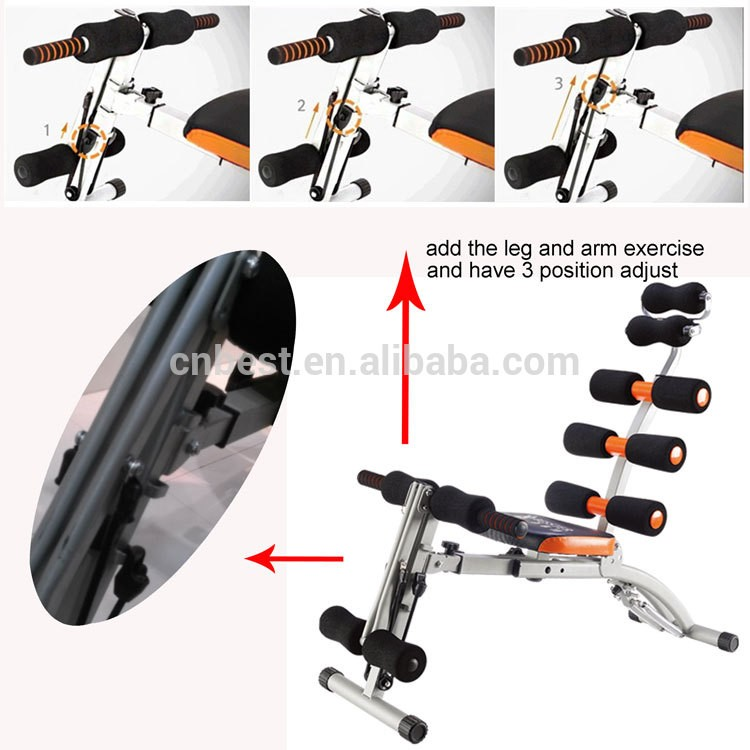 Best Js-060s Multi Functional Ab Trainer With Springs Pack Care ...