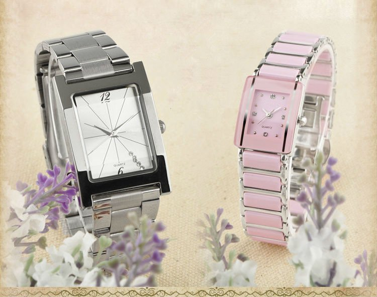 Hotest ceramic couple watch in 2012 design for fashion young lovers