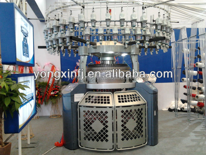 YX-HD-CJ High Speed Double Jersey Computerized Electronic Jacquard Circular Knitting Machine Not Second Hand