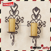 Home Deco Custome Iron Candle Wall Holders
