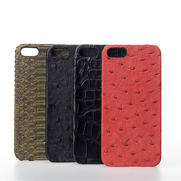 OEM Alligator Leather Cell Phone Case Supplier, Fancy Exotic Leather Phone Cases Waterproof