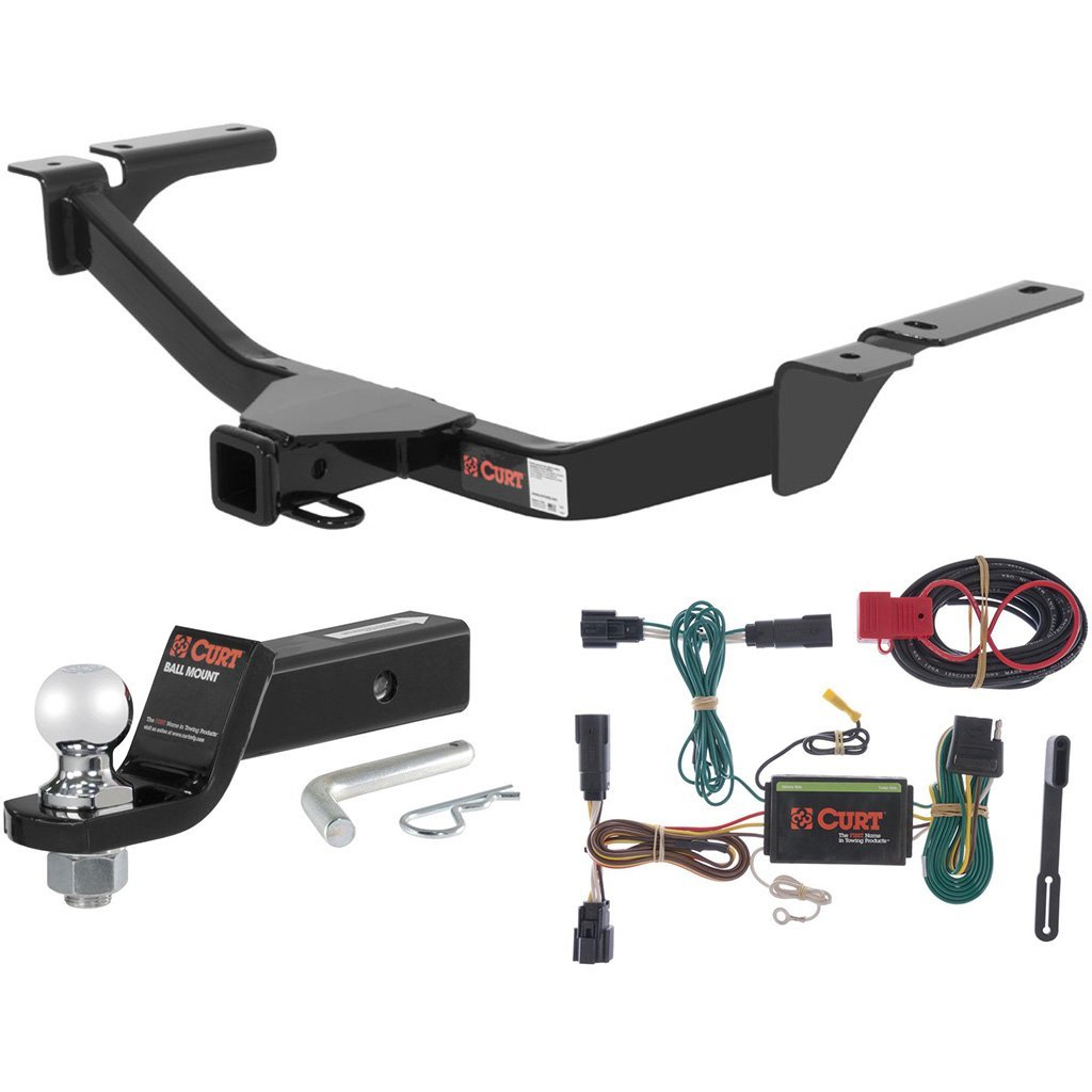 Get Quotations  C B Curt Class  Trailer Hitch Tow Package With  Ball For   Ford