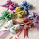 pp material flowers and wrapping the set per card giant ribbon bow