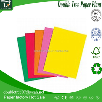 mix colors a4 size colored copy paper book high quality offset