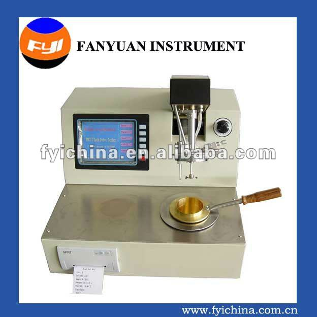 DW5800 oil/petroleum flash point tester