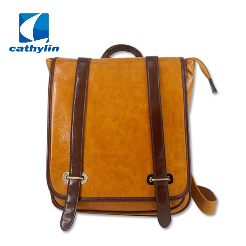 2328119f1d New High Quality Designer Brand Patchwork Women Backpacks Mochila Women s  PU Leather Backpack Travel bag School Backpack