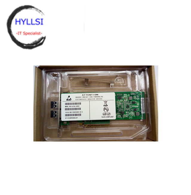 HP 489191-001 PCIe 2-port 8GB Fibre Channel 82Q HBA Board AJ764-63002 New