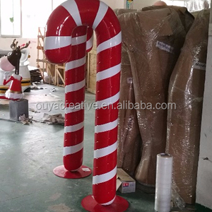 large candy cane candystick christmas outdoor candy cane decorations