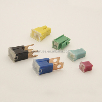 assorted box of jcase type fuses 20 - 60amp fuse qty 30 j case cartridge