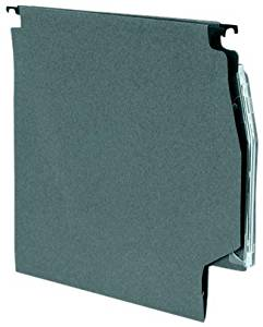 5 Star Lateral Files Manilla Heavyweight with Clear Tabs and Inserts W275mm Green [Pack of 50]4.41 x 15.83 x 12.83 IN