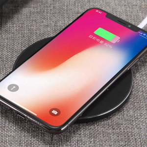 Magnetic One Time Charging Speed Wireless Mobile Phone Charge Wireless Rose Gold Charger Plate Fast for Iphone X/8 PLUS