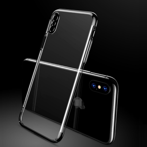 TOTU PC 3D Laser Carving Transparent Mobile Phone Shell Anti-Shock Easy Installing Phone Accessories and Case For iPhone X