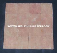 Handcrafted Rose Quartz Tiles